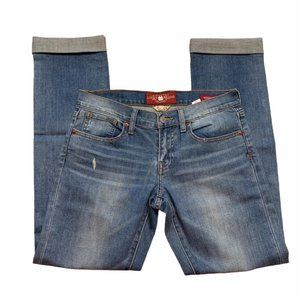 Lucky brand jeans sienna tomboy 0/25 Medium wash